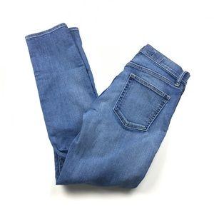 GAP Resolution Slim Straight Mid Rise Jeans Sz 28s